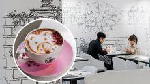 【灣仔美食】唯美夢幻小白屋café!手繪藝術牆激似韓劇打卡位
