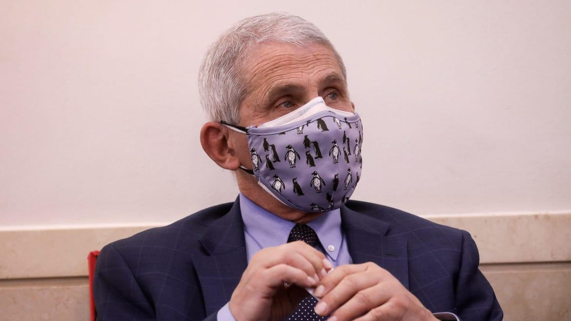 Fauci Warns of 'Setback' in COVID Fight After Brutal Polar Vortex