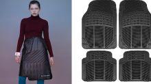 ¿Una falda moderna o un tapete para el carro? El insólito diseño de Balenciaga que encendió las redes