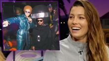 Jessica Biel reveals her epic Halloween costume was a real vintage jumpsuit owned by Justin Timberlake