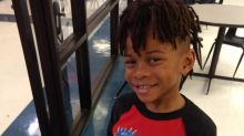 Mom says elementary school is demanding that her first-grader cut his dreadlocks: 'I won't conform to racist policies'