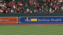Jackie Bradley Jr. made this home-run robbery look too easy