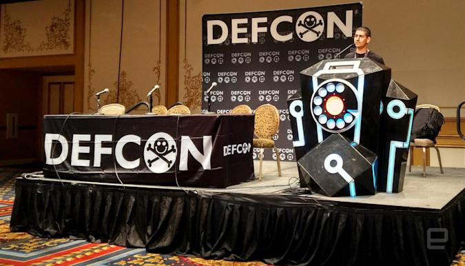 Researcher Anthony Rose discloses Bluetooth lock security issues at Def Con.