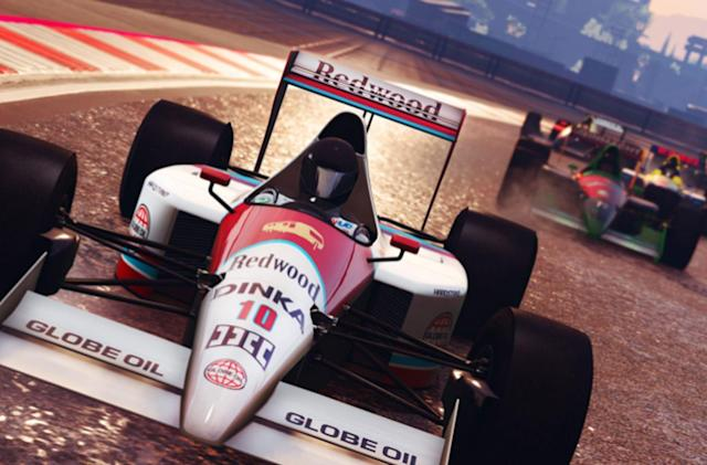 'GTA Online' gets competitive F1 racing today