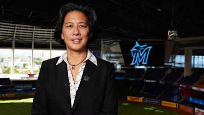 Kim Ng makes her first trade as Marlins GM
