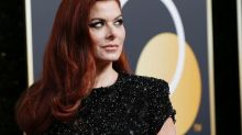 Debra Messing condemns gender pay gap at E! during E! News red carpet interview