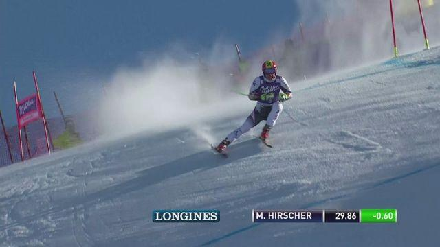 Hirscher closes in on World Cup title in Switzerland