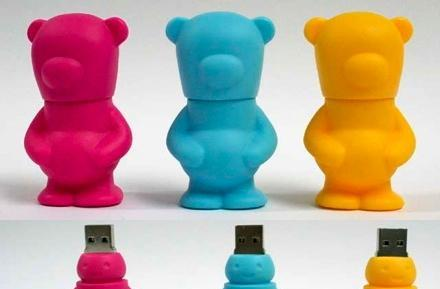 SolidAlliance's FATBEAR USB drive: gets fat, scares kids