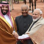 Saudi prince agrees to step up anti-terror 'pressure' with India