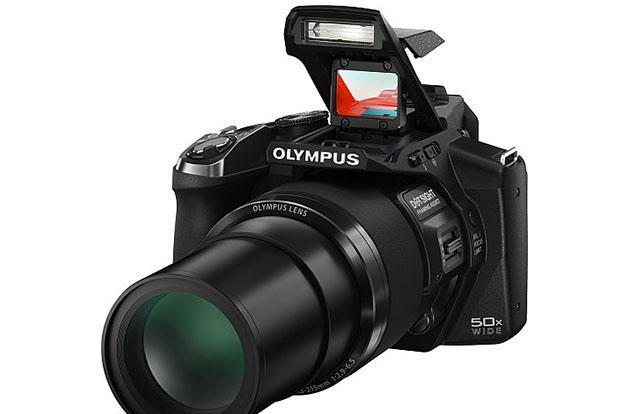 Olympus launches 50x superzoom with unique 'Eagle-Eye' gun sight