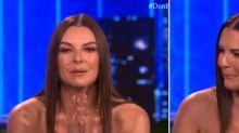Marjorie de Sousa llora y culpa a Julián Gil de sus males; mira el video