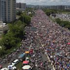 7 striking photos show how massive the Puerto Rico protests really are