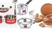 Best deals: This Dhanteras, go healthy; buy copper, steel cookware