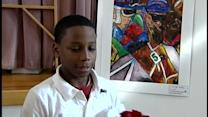 Elementary student wins Ky. Derby museum art contest