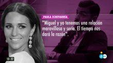 """Paula Echevarría: """"Mi relación con Miguel es maravillosa y seria"""""""