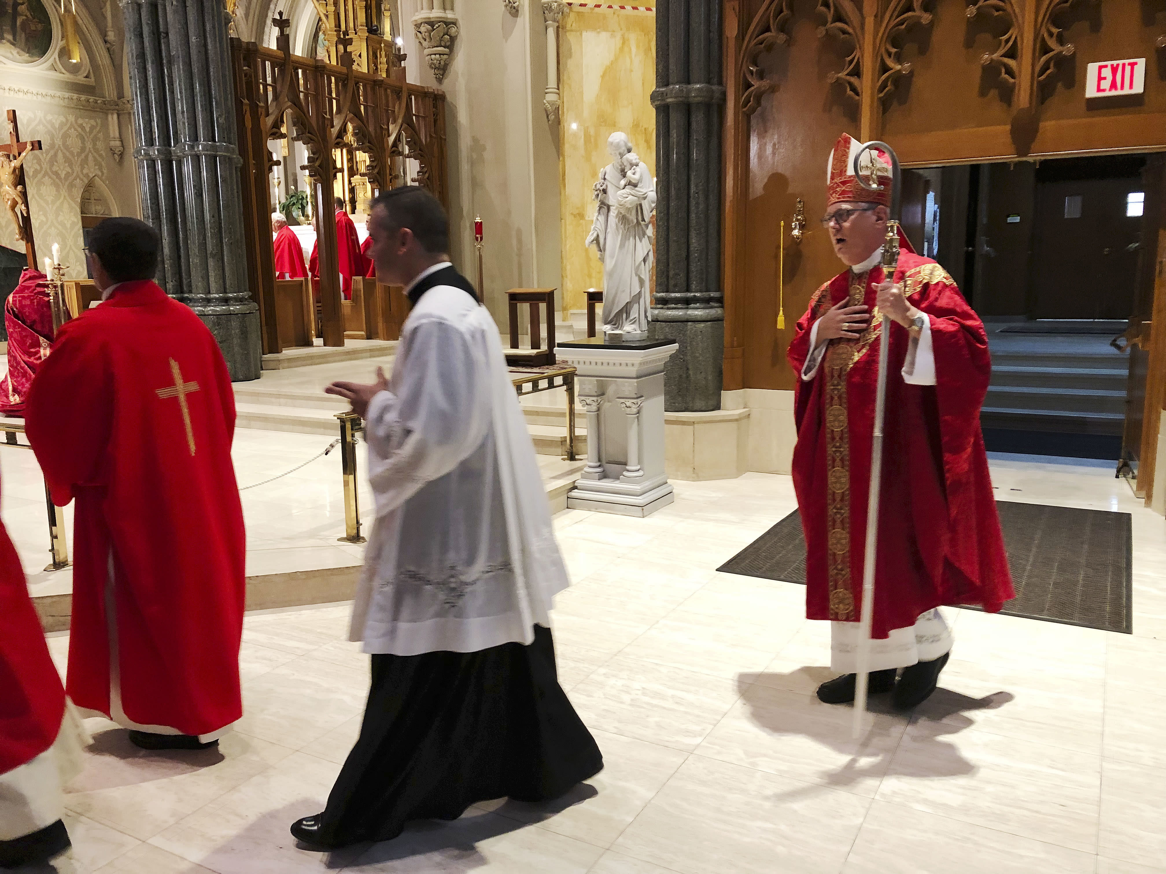 Bishop holds day of prayer and penance amid abuse scandal