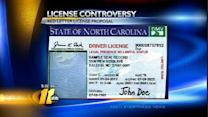Rally held as illegal immigrants get drivers' licenses
