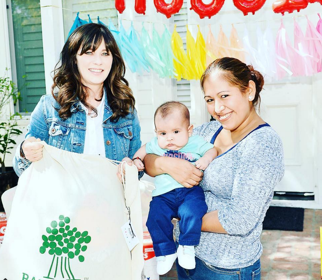 Our hero love Zooey Deschanel helped donate 2.5 million ...