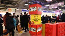 Lego building success through expansion