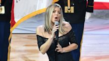 Fergie apologises for bizarre national anthem rendition