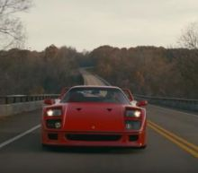 The most beautiful Ferrari F40 love story