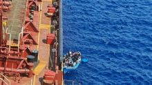 Migrants transferred from Maersk tanker after more than month at sea