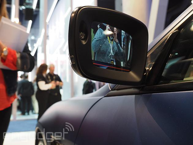 The Maserati of the future has cameras and displays instead of mirrors