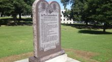 Ten Commandments monument installed in Arkansas; ACLU vows court fight