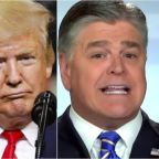 Trump Shoots Down Hannity's Favorite Conspiracy Theory On Pelosi, Ocasio-Cortez