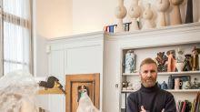 Dirk Van Saene Has Turned His Hand to Painting, Sculpture