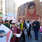 Thousands descend on downtown Los Angeles for 3rd annual Women's March