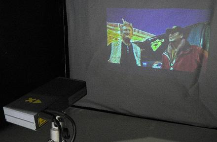 Explay's QVGA oio micro-projector shown at CEATEC