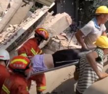 Restaurant Collapse in China's Shanxi Province Leaves 29 People Dead