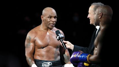 Tyson bluntly honest about smoking weed ahead of bout