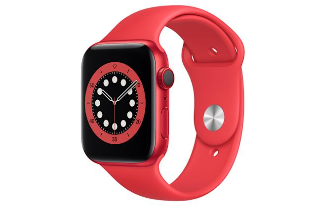 The Apple Watch Series 6 is down to $320 on Amazon
