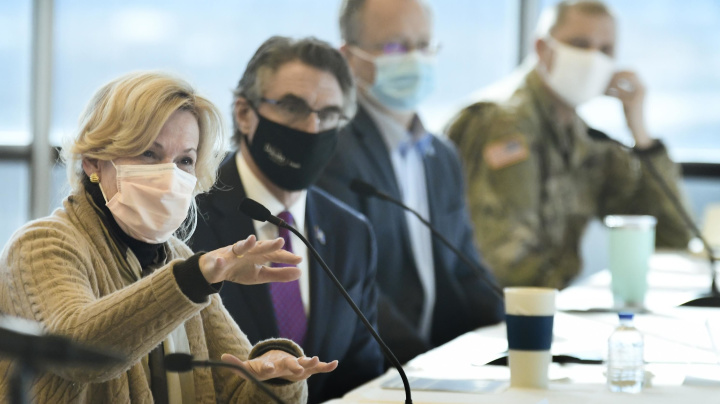 Birx stunned by state's poor mask use during pandemic
