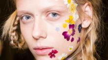Would You Wear Flowers on Your Face? Here's How