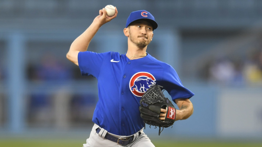 4 Cubs combine for no-hitter vs. Dodgers