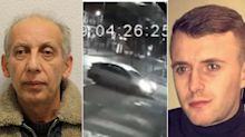 Pizza delivery driver jailed for 14 years for running over and killing man after wing mirror was broken