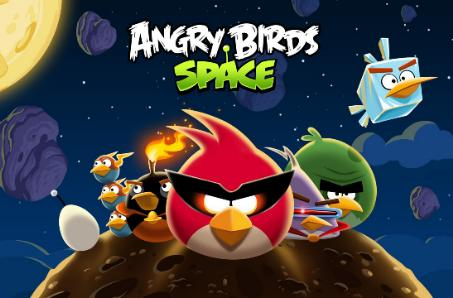 PSA: Angry Birds Space blasts off