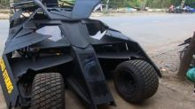 Vietnamese college student builds functional Batmobile