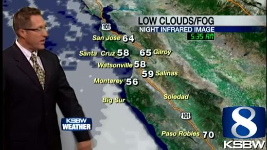 Get Your Friday KSBW Weather Forecast 6.28.13
