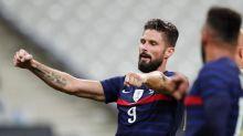Foot: l'équipe de France humilie une Ukraine très affaiblie