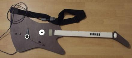 Crafty gamer builds PS2 Guitar Hero axe from scratch