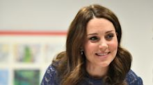 Kate Middleton can't get enough of this blue maternity dress