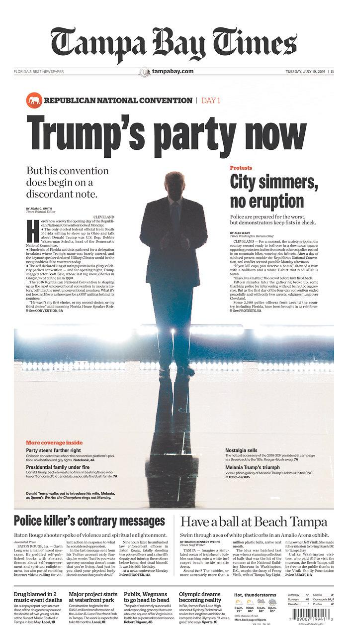 <p>Published in St. Petersburg, Fla. USA.(newseum.org)</p>