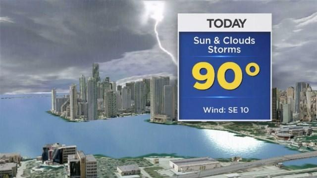 CBSMiami.com Weather 7/7/2014 1:00 PM