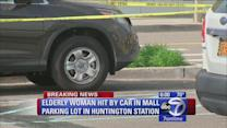 Elderly woman struck by SUV in Long Island mall parking lot
