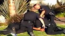 California skateboarder victim of brutal police beat down