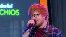 Ed Sheeran performs his smash hit 'Shape of You' live on 'GMA'